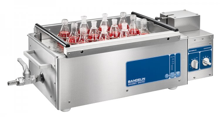 BANDELIN - SONOSHAKE - Ultrasonic bath combined with shaking device