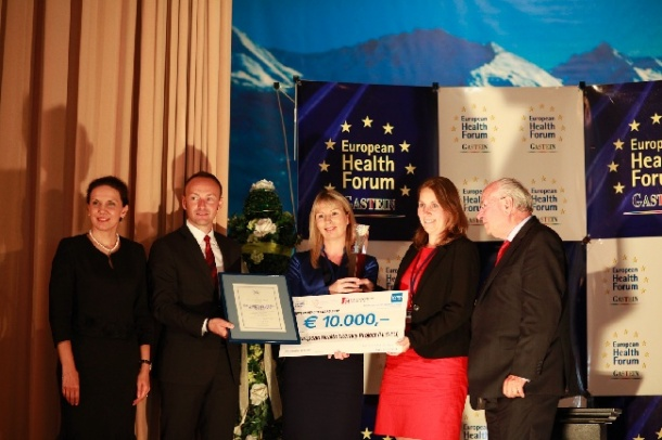 Photo: European Health Award geht an das Health Literacy Project