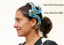 Photo: EEG-Monitoring per Body Area Network