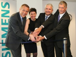 Siemens cuts the ribbon to open the new syngo® Training Academy based in...