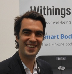 Alexis Normand, business development manager with Withings.