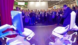 Launched yesterday: the new ultrasound platform Arietta by Hitachi Aloka