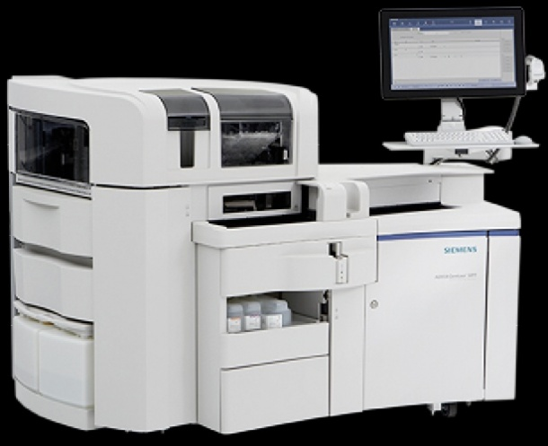 The ADVIA Centaur CP Immunoassay System is a mid-volume, high-throughput bench...