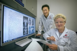 Helene Benveniste, MD, PhD, and Hedok Lee, PhD, analyzed the glymphatic...