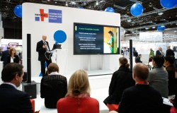 MEDICA CONNECTED HEALTHCARE FORUM in Halle 15.