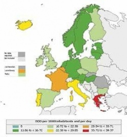 Consumption of antibiotics for systemic use in the community in EU/EEA...