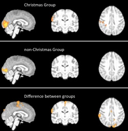 Photo: Scientists localise the Christmas spirit in the brain
