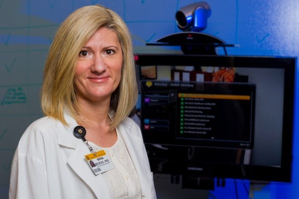 Mirna Becevic, Ph.D., an assistant research professor of telemedicine at the MU...
