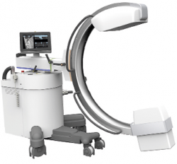 Photo: Flat Panel Surgical C-arm