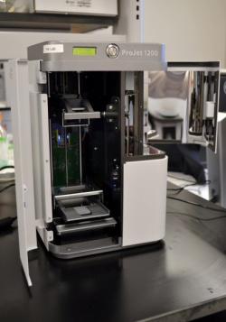 By using 3-D printers, researchers are able to easily produce and refine the...
