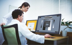 Photo: EIZO Monitor Quality Control Solutions