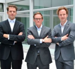 Das Labfolder Management-Team (v.l.n.r): Dr. Simon Bungers (Co-founder, CEO und...