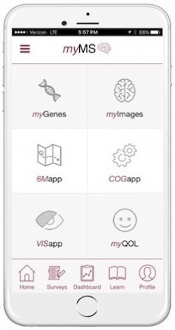 myMS is the worlds first smartphone app capable of collecting large amounts of...