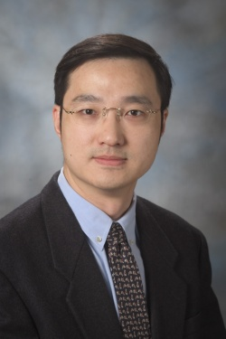 Zhimin Lu, Ph.D., professor of Neuro-Oncology.