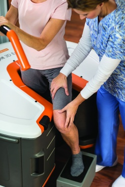 Both CurveBeam and Caresteam offer weight-bearing solutions for extremity CT...