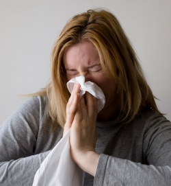 Summer colds can actually make patients feel sicker because they generate more...