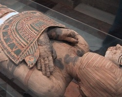 Photo: Mummy Research at the University of Zurich