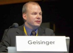Dr Thomas Geisinger, Global Manager for e-Health Integration of Agfa Healthcare...