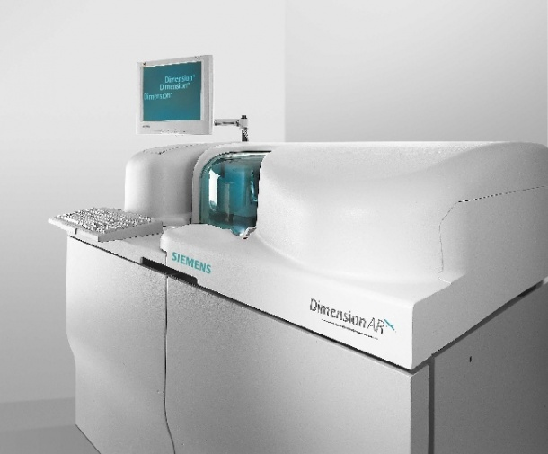 Photo: Four automated immunosuppressant drug tests on one integrated system