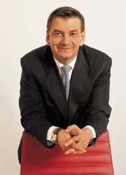 Philippe Houssiau, President of Agfa's HealthCare Business Group