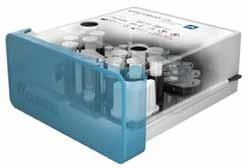 The Unyvero P50 Pneumonia Cartridge for pneumonia diagnostics (interior view)