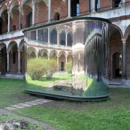 Installation cells by architect Filippo Taidelli in a hospital in Milan.