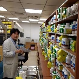 Specialised TCM pharmacists compound unique drug mixtures from more than 300...
