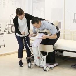 Mobility Support Robot to support transferring and standing position
