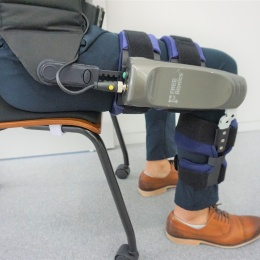 Compact single joint exoskeleton robotwith several special muscle training...