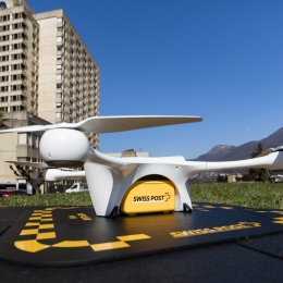 Photo: Drones take laboratory logistics to a new level