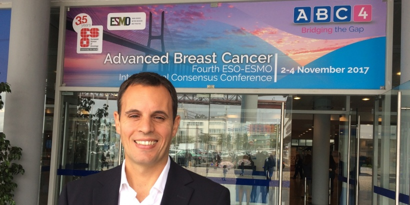 Eduardo Oliveira at the Advanced Breast Cancer Fourth International Consensus...
