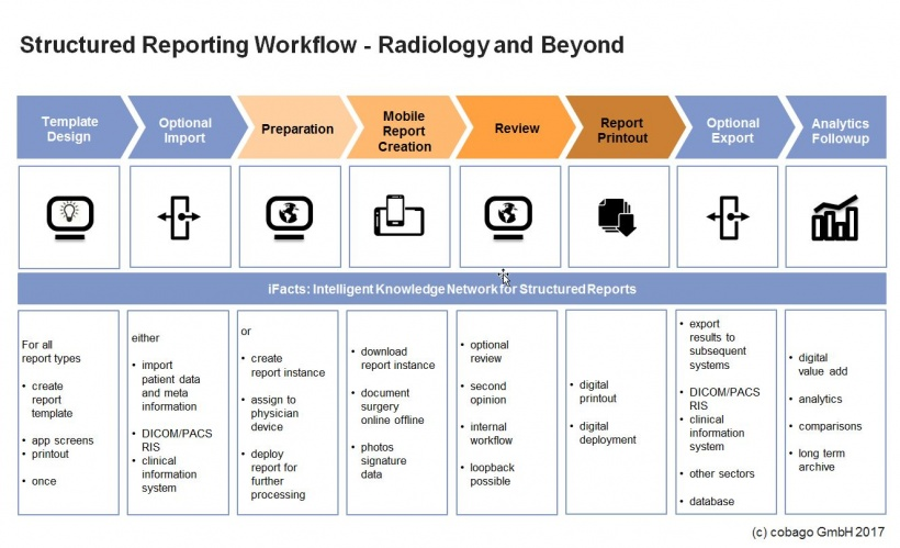 Structured Reporting Workflow - Radiology and Beyond