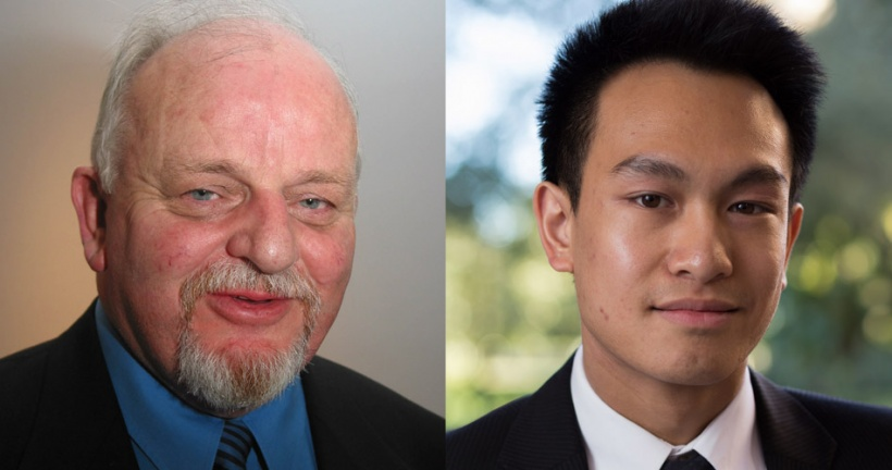 Dr. Malcolm Sears and Maxwell Tran