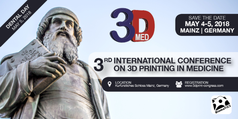 3. Internationaler 3D-Print Kongress für Medizin