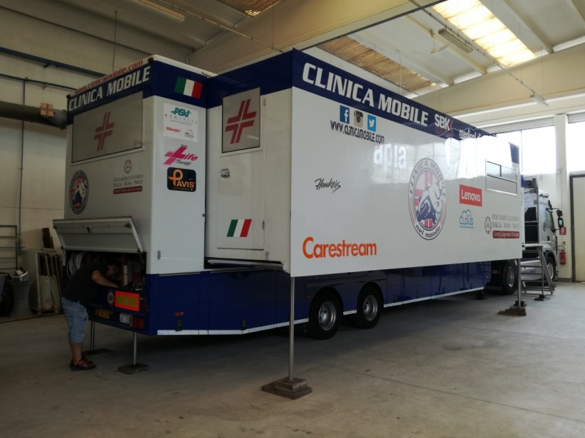 Clinica Mobile's DRX-1 delivers high-speed care