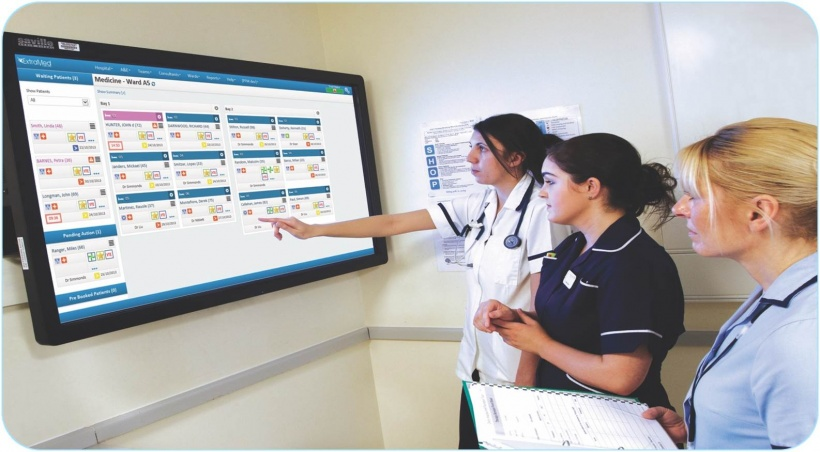The system allows tracking every patient along their pathway.