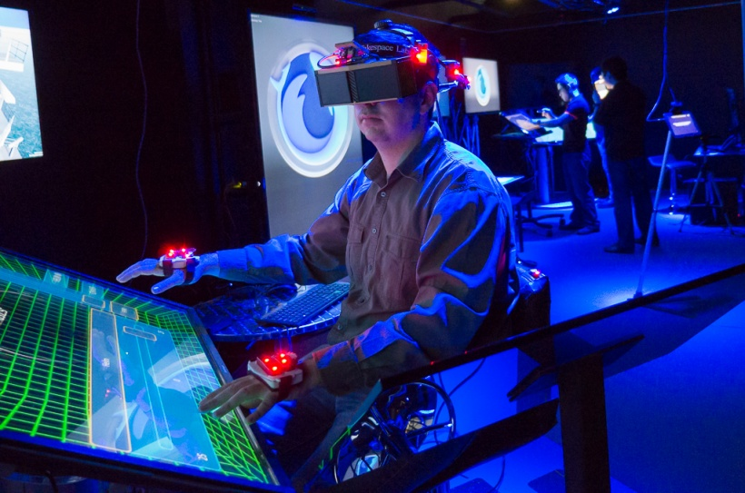 The Mixed Reality Lab has pioneered work on virtual reality.