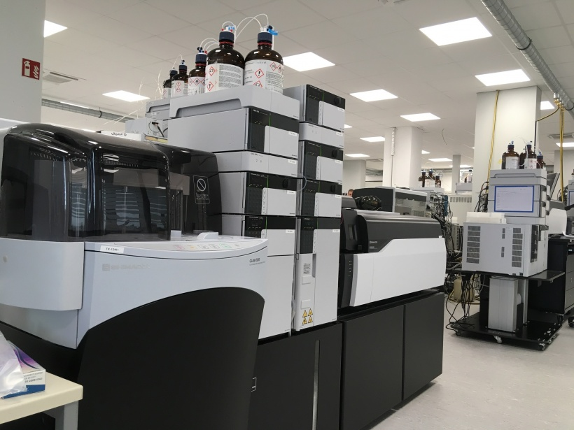 Currently used by the lab for forensic and clinical purposes, LC-MS primarily...