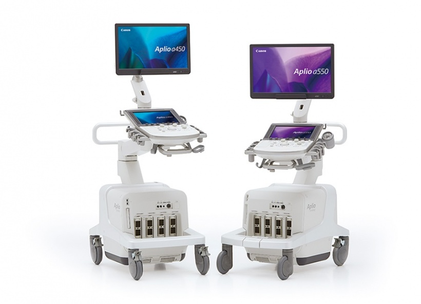 product photo of two ultrasound systems