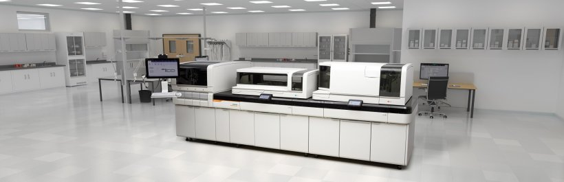 the siemens healthineers atellica solution in a lab environment