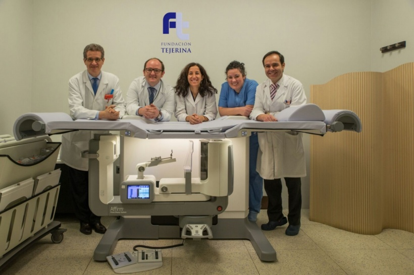 Among the first to provide tomosynthesis guided breast biopsies on the new.
