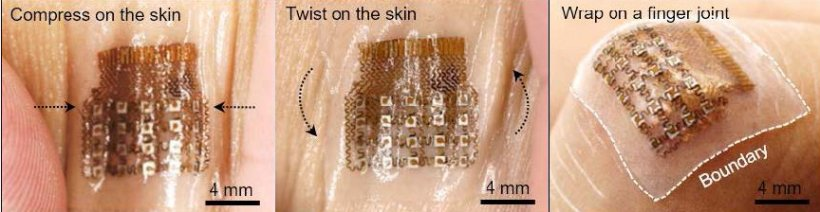 The patch can guarantee seamless integration to the skin due to its flexible...