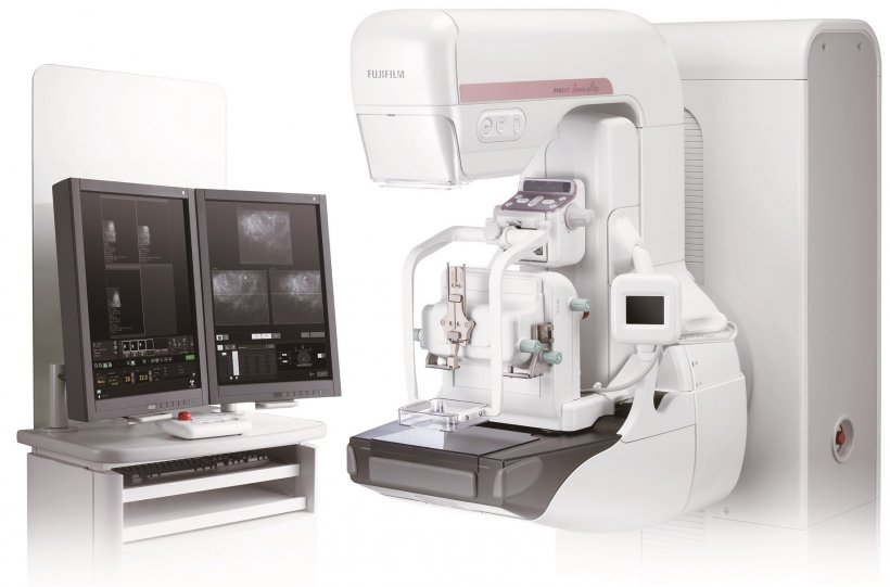 The AMULET Innovality Full Field Digital Mammography system