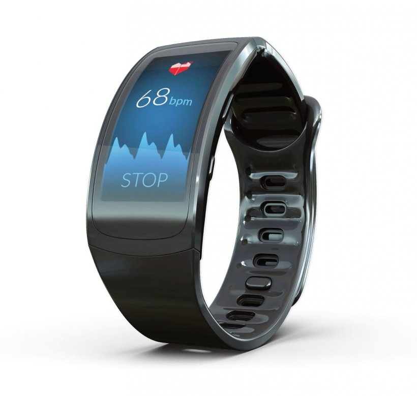 A smartwatch using an app which can record heart rhythm to detect atrial...