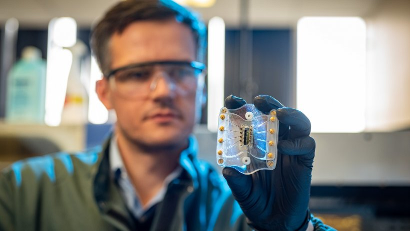 Dr Paulo Rocha is developing a low-cost integrative sensing tool for early...