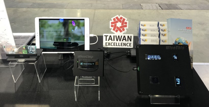 With innovative OLED solutions, WiseChip has won the Taiwan Excellence Awards...