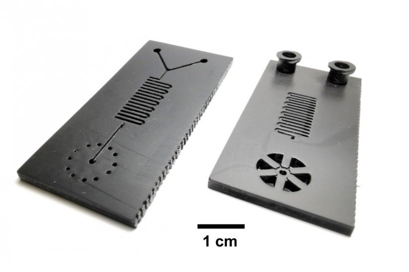 Illinois researchers developed a microfluidic cartridge for a 30-minute...