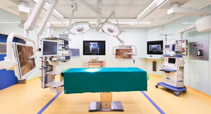 Refurbishment success in seven surgical units