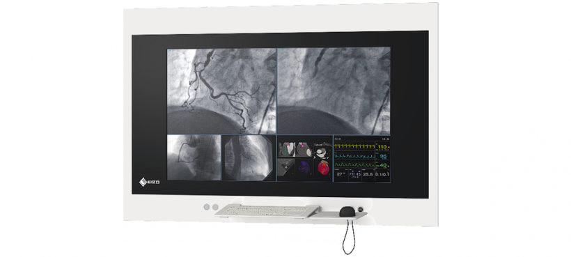 EIZO's individually configu­rable wall consoles for operating theatres.