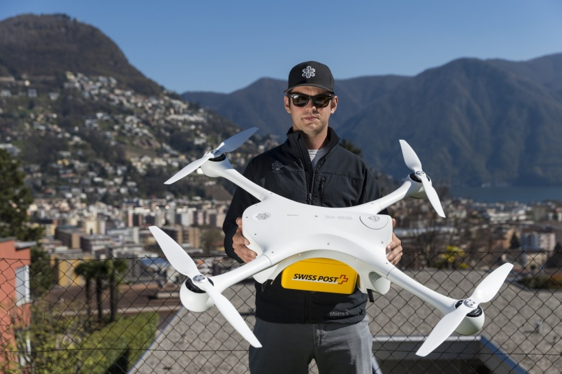 Drones take laboratory logistics to a new level